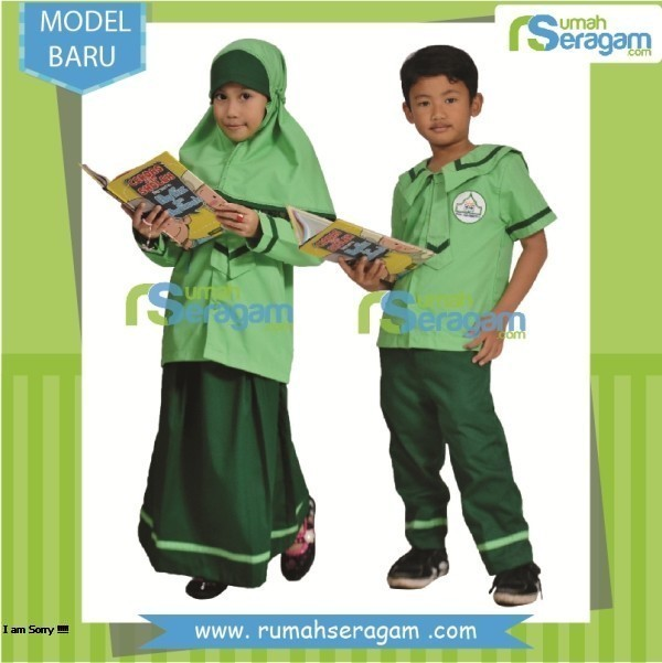 Seragam anak tk islam